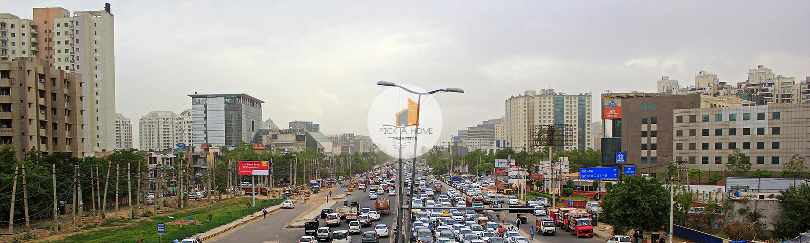 Sohna Road banner