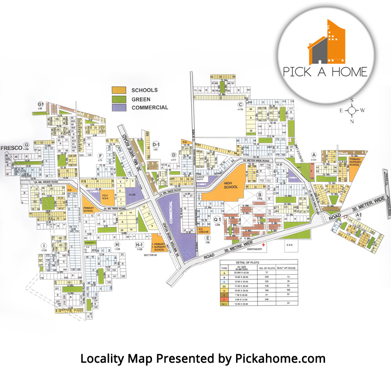 South City 2 Locality Map